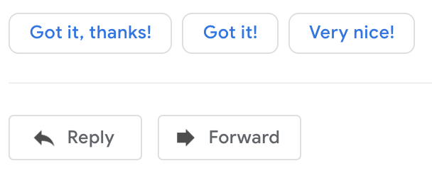 Smart Reply Gmail