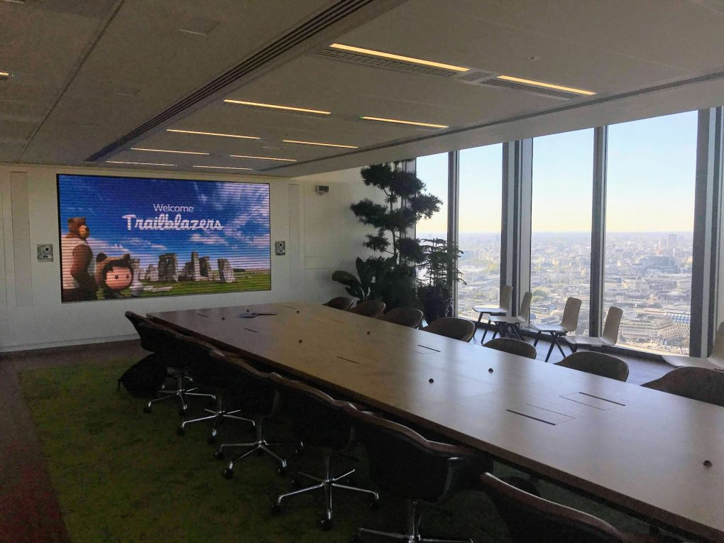 Salesforce Tower London - Top Floor